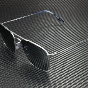 Giorgio Armani Men's Matte Grey Sunglasses!